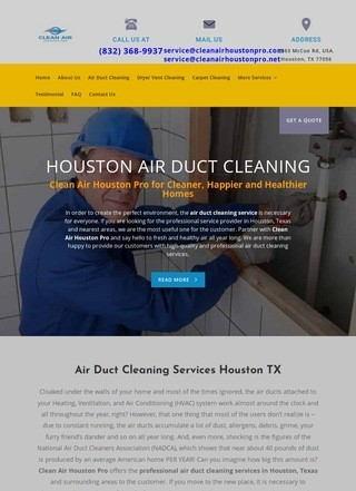 Air Duct Cleaning Houston TX