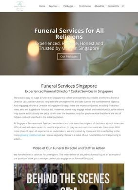 Funeral Services Singapore