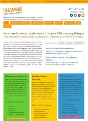 SEO Company Glasgow & Internet/Web Marketing Glasgow