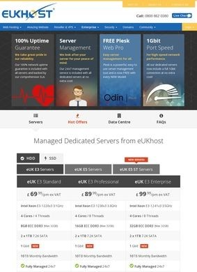 Eukhost - Dedicated Servers