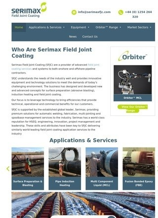 Serimax Field Joint Coating (SFJC)