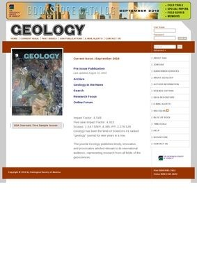 The Geology Journal