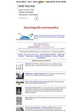 Encyclopedia Astronautica