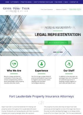 Fort Lauderdale Property Insurance Attorneys