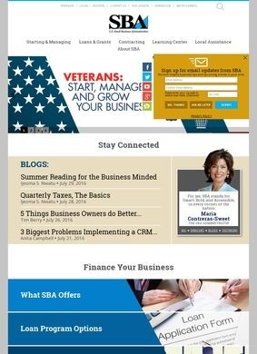 The US Small Business Administration