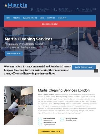 Martis Cleaning Services