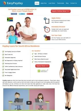 Payday Loans South Africa