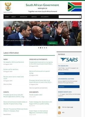 South African Government Online