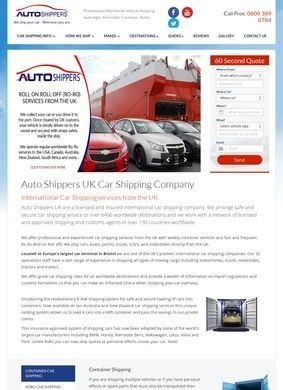 Autoshippers: International Car Shipping