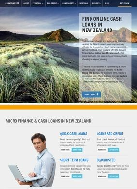 Find Loans in New Zealand