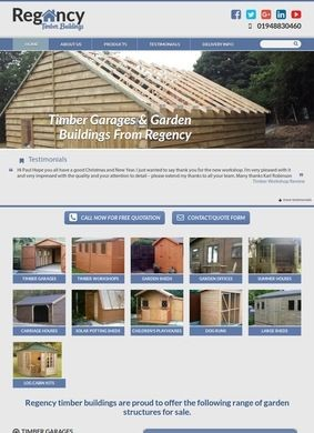 Regency Timber Buildings