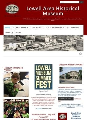 Lowell Area Historical Museum