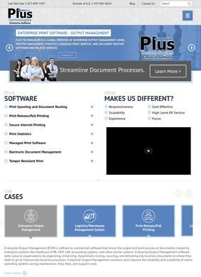 Plus Technologies: Print Management Solutions and Printing Software
