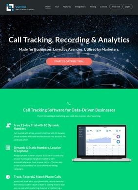 Vontio Call Tracking Software