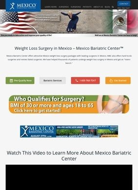 Mexico Bariatric Center: Weight Loss Surgery in Mexico