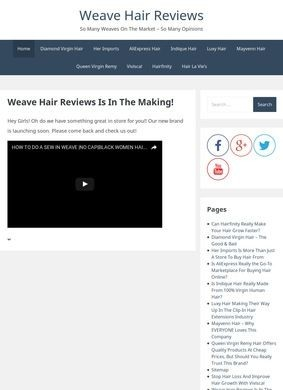 Weave Hair Reviews