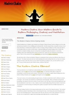 Modern Chakra: Healing Guide to Eastern Philosophy