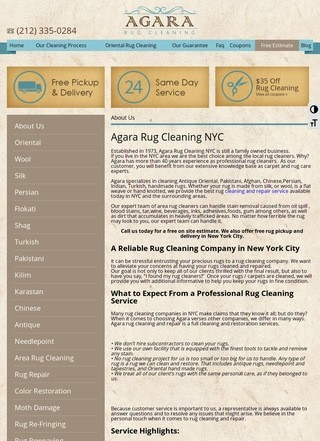 Agara Rug Cleaning NYC