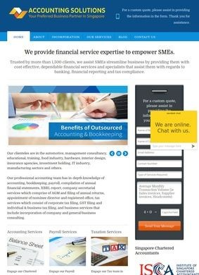 Accounting Solutions Singapore