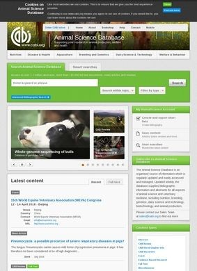 Animal Science Database