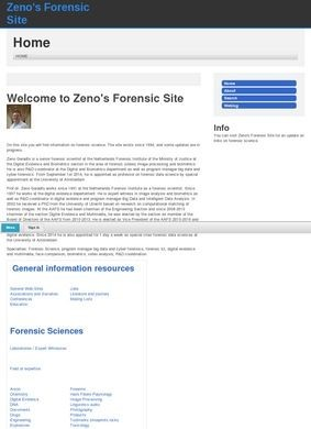 Zeno's Forensic Page