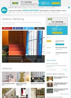 HGTV: Interior Painting