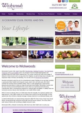 Wickwoods Country Club Hotel and Spa