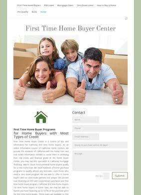 First Time Home Buyer Center