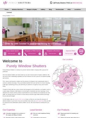 Shutters by Purely Window Shutters