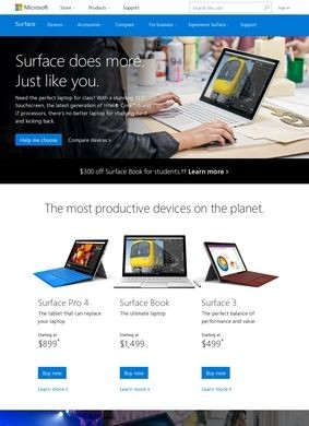 Microsoft: Surface Tablets