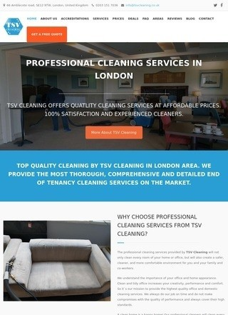 TSV Cleaning