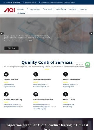 AQI Service-China Inspection Services & Quality Control Solutions
