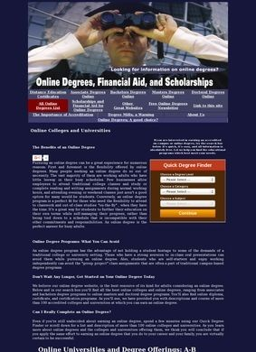 Online Degrees, Financial Aid, and Scholarships