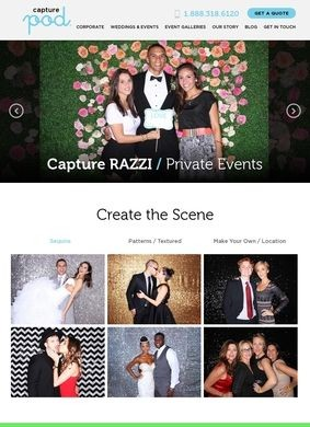 Capture Pod: Miami Party Rentals