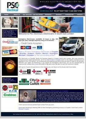PSC Electrical: Emergency Electrician in Croydon