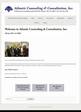 Atlantic Counseling & Consultation, Inc.