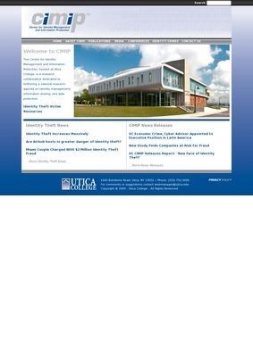 Utica College Center for Identity Management and Information Protection