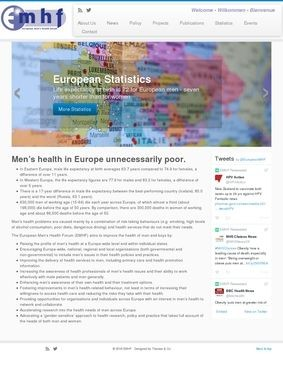 The European Men's Health Forum