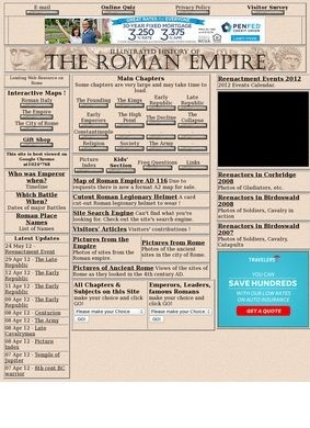 Illustrated History of the Roman Empire