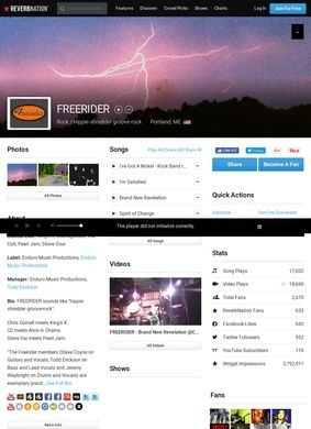 Reverbnation: Freerider