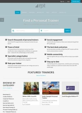 Register of Personal Trainers