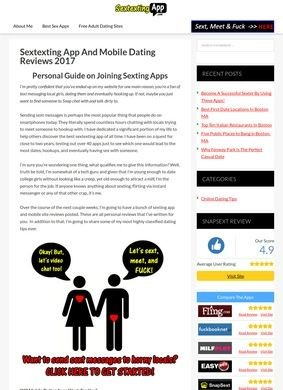 Sextexting App Reviews