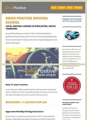 Drive Positive Driving School Doncaster