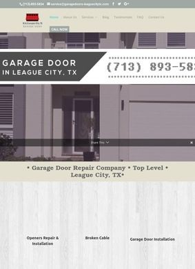 Garage Door Repair: League City