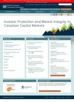 British Columbia Securities Commision