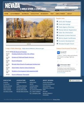 Official Website of the State of Nevada