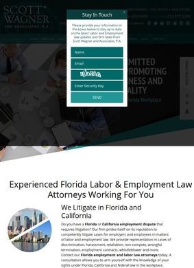 Scott Wagner and Associates, P.A.: Florida Employment Lawyers