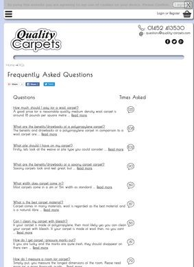 Carpet-questions.com