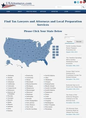 USAttorneys.com: Tax Lawyers