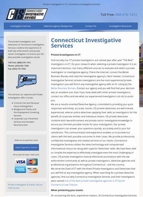CIS: Connecticut Investigative Services